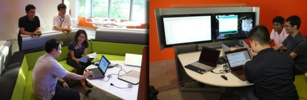 Collaborative workspace in University Town