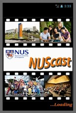 NUScast Android app