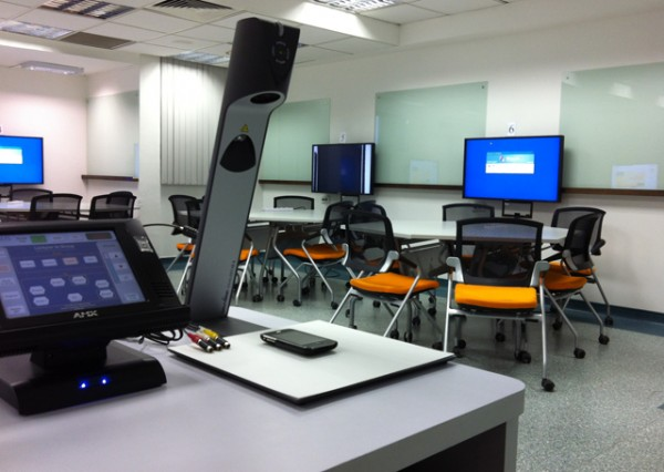 Active Learning Classroom - Control Panel and Visualiser