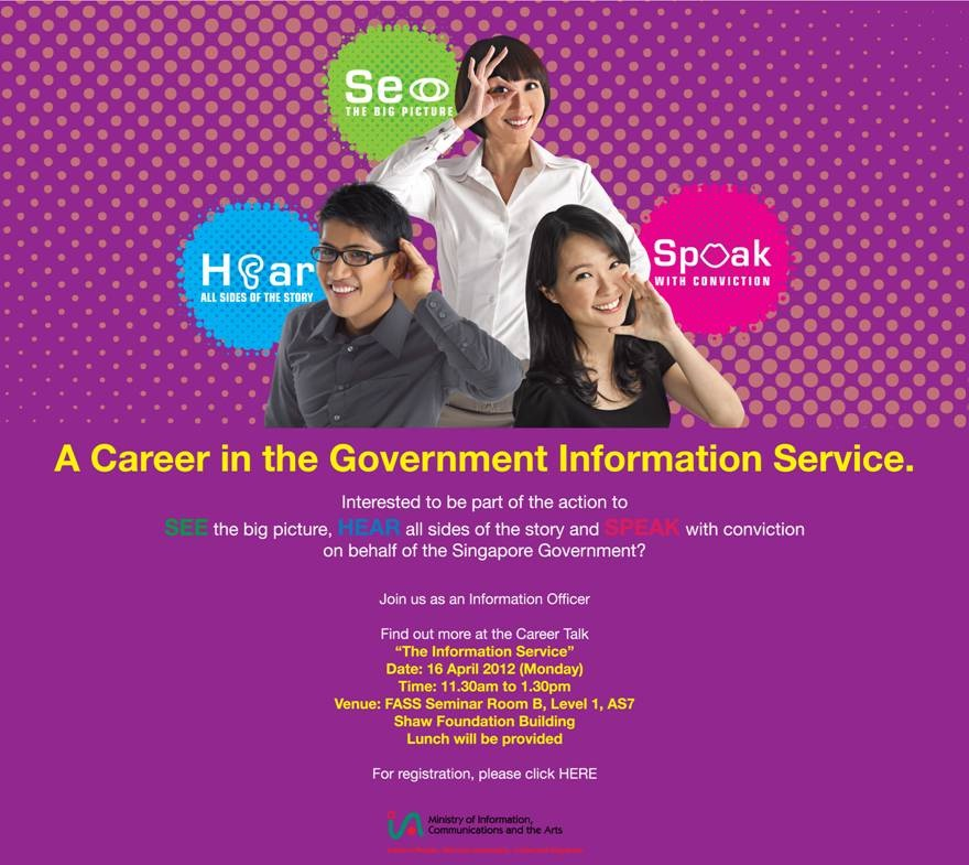 Career Talk – The Government Information Service – Sign up ...
