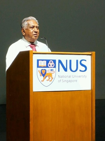 Mr S R Nathan as our key note speaker
