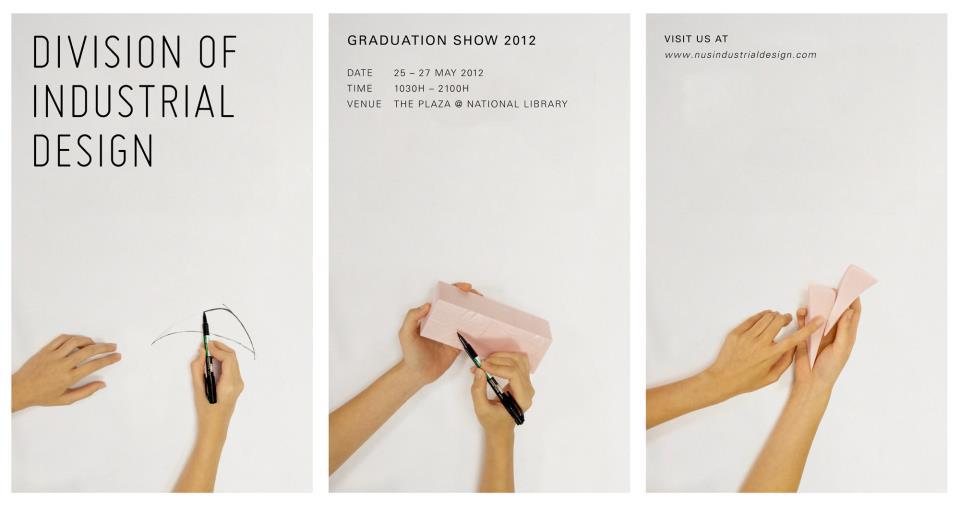 Did graduation show 2012 id nus for Product design singapore