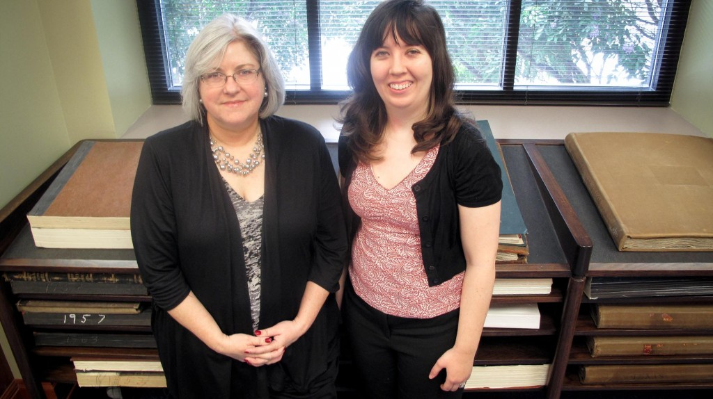 new archivists at Baylor