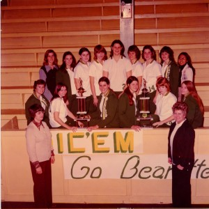 1970s Baylor women's basketball