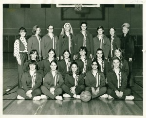 Baylor women's basketball 1970s
