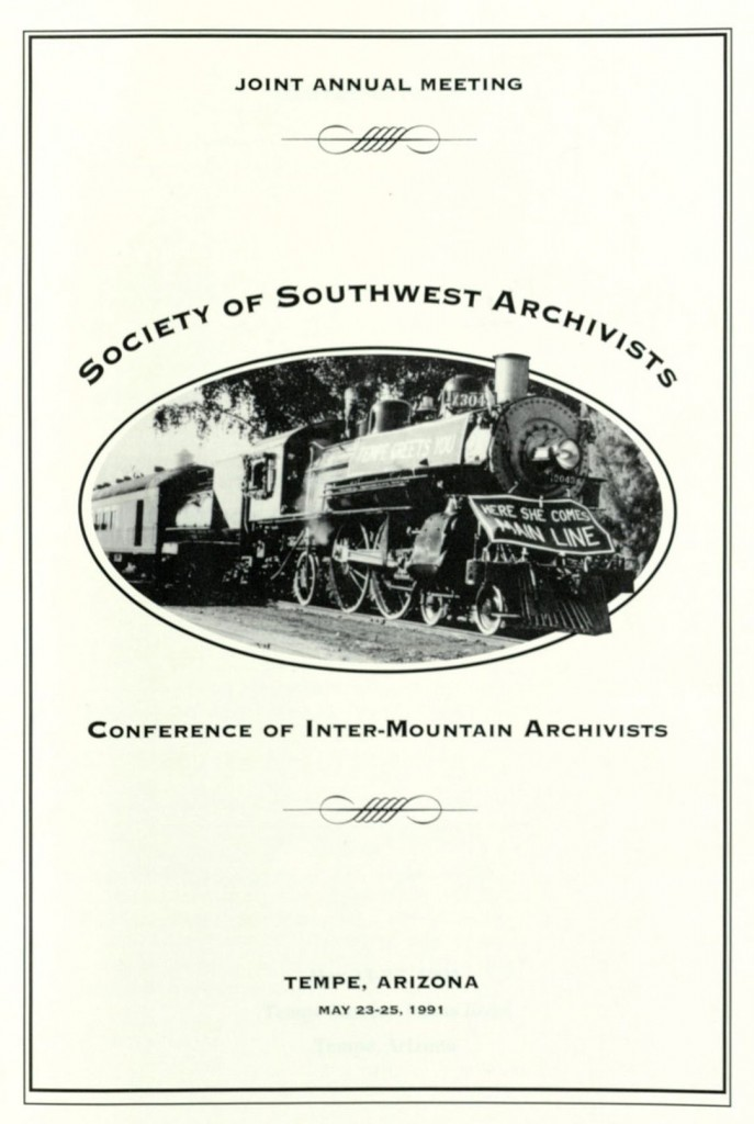 SSA-CIMA meeting program, 1991