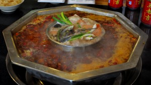 Cooked hot pot