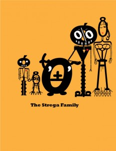 Font Monster Family Portrait MYH