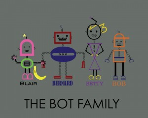 Font Monster Family Potrait