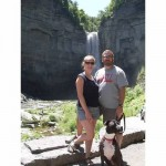 Kyle Downey at Taughannock Falls