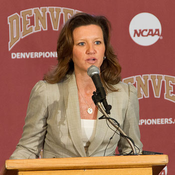 DU names Kerry Cremeans new women's basketball head coach