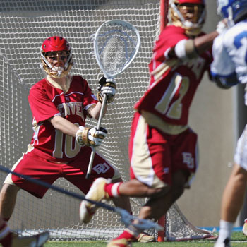 Freshman goalie in the spotlight at all-star lacrosse match-up