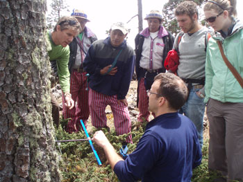 First lecture in global series explores tree-ring data in Central America