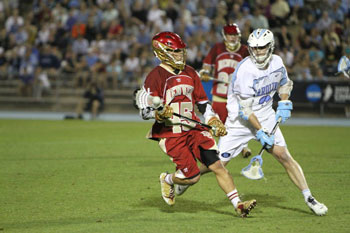 Men's lacrosse team advances to NCAA quarterfinals