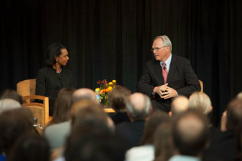 Condoleezza Rice returns to DU campus