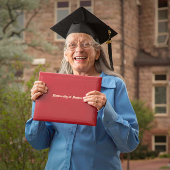 At 78, Dorothy McNeese finally gets her master's degree