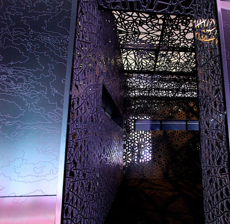 Mehran takes on science, politics and religion in new museum exhibit