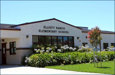 Front view of Elliott Ranch