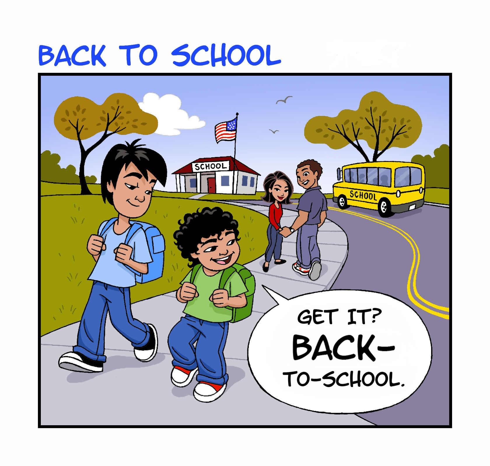 Welcome To Back To School Night 20 at 8:00 a.m. back to school