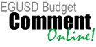 EGUSD Budget Comment Online