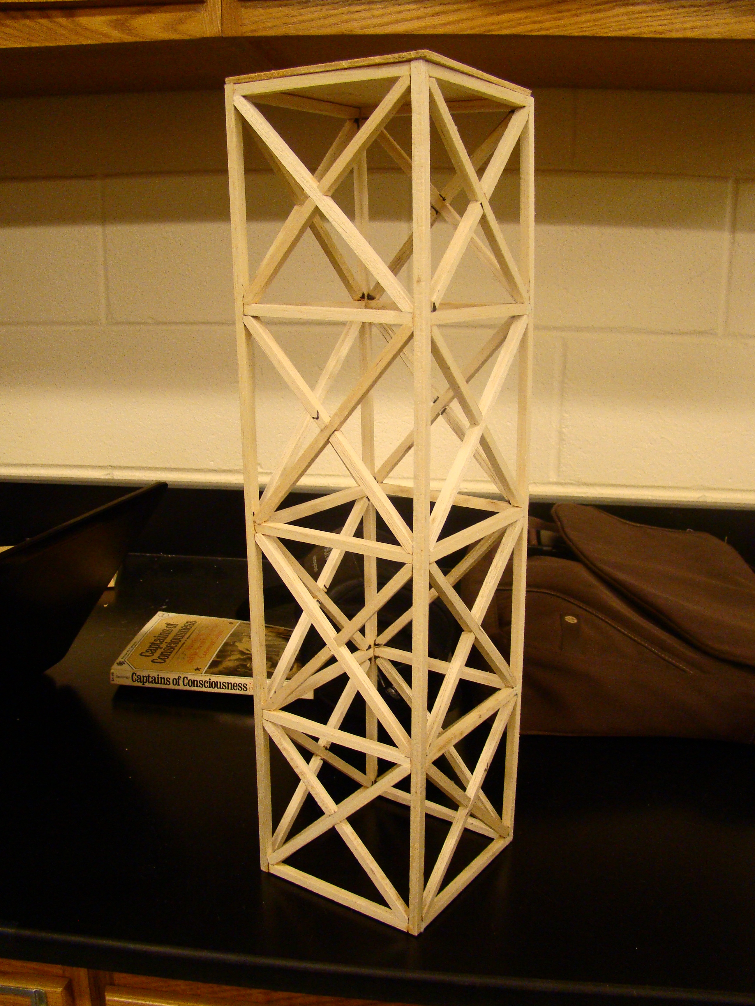 Information How To Make A Balsa Wood Tower Strong Wood Plan