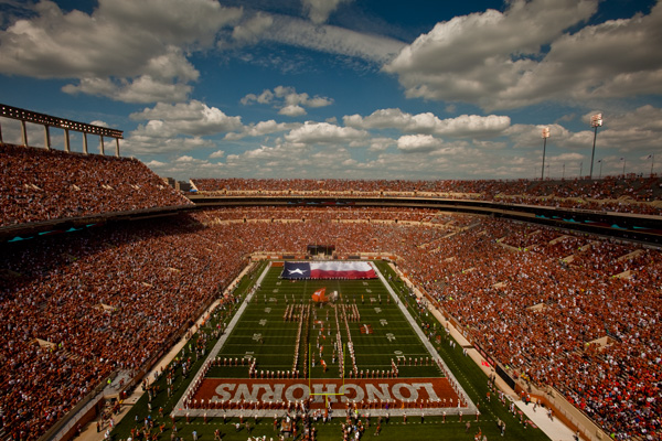 Longhorn Nation The Connections Between Longhorn Football And Texas