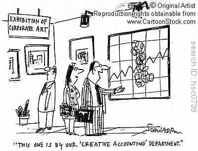 discussion on creative accounting Creative accounting: a brief history and conceptual framework 1 the aim of this study is to make a detailed analysis of literature about creative accounting and present a conceptual and historical framework about this topic.