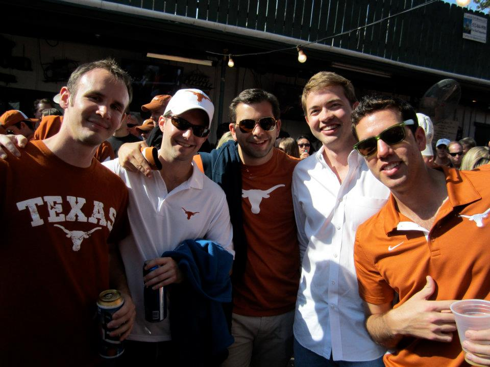 McCombs MBA students