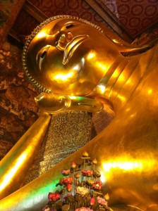 The giant Buddha at the palace