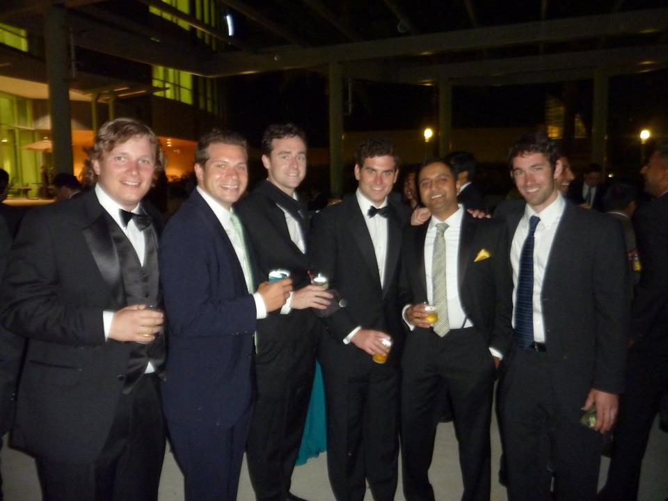 Texas MBAs at a McCombs social event