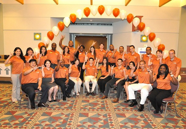 McCombs Representatives at 2012 Consortium Orientation Program