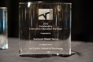 2012 Outstanding Executive Education Partner