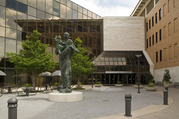 McCombs Entrance