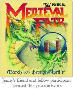 36th Annual Medieval Fair Poster