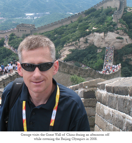 George Schroeder, Great Wall of China