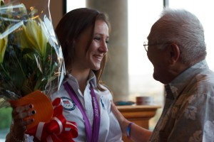 2012 Olympic Judo Bronze Medalist Marti Malloy Celebrates Homecoming