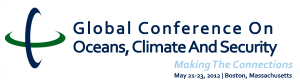 Global Conference for Oceans, Climate and Security logo