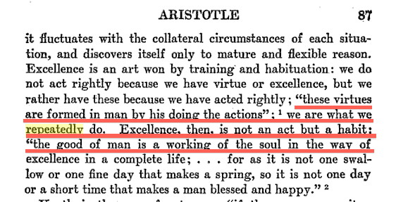 Aristotle quotes nicomachean ethics