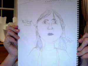 This Is my first self portrait