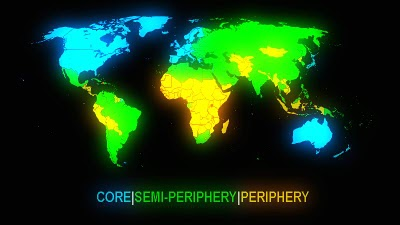 theory of core and preifery Core and periphery: an analysis of the spatial patterns of international trade abstract wallerstein in his 'world system theory' discovered a semi-periphery.