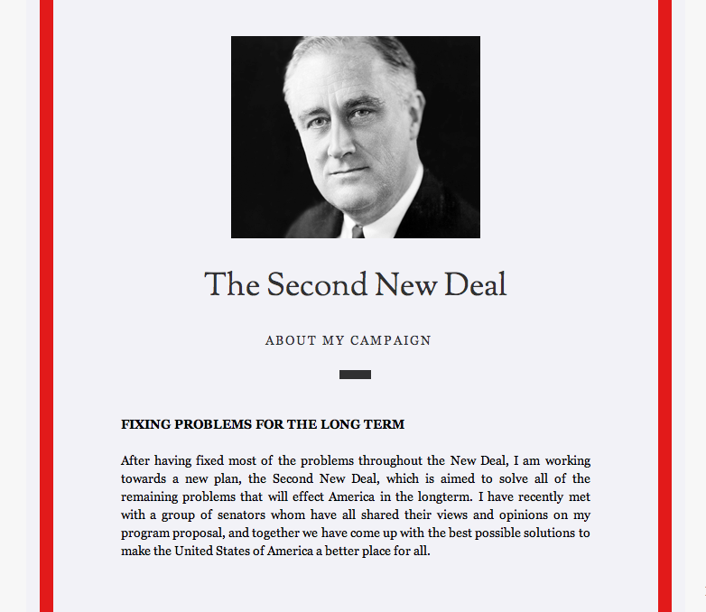 how did roosevelt s new deal try Fdr came up with the new deal to try and pull our country out of the depression  roosevelt's plan failed,  presidents hoover and roosevelt.