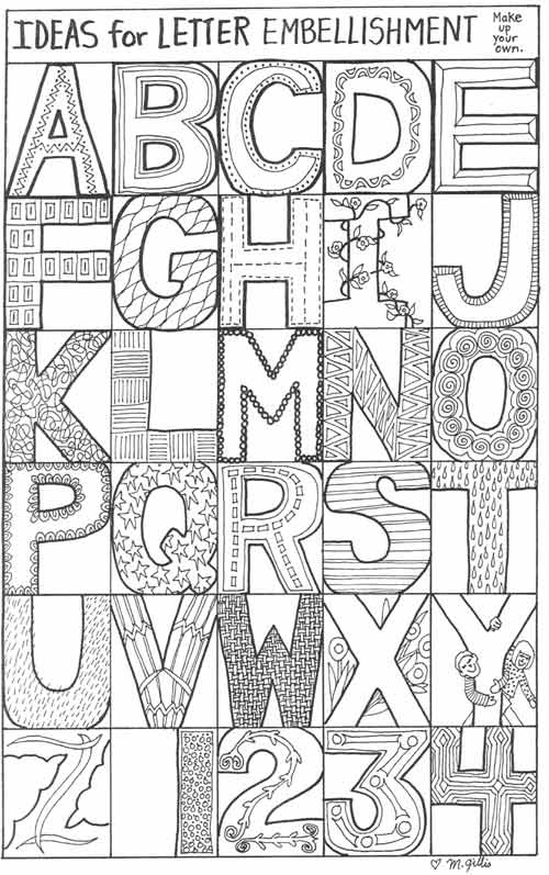 Line Art Letters : Cooper middle school visual arts what s happening